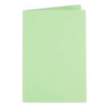 Subcarpeta cartulina Exacompta tamaño A4 color verde 250 gr