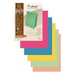 Subcarpeta cartulina Exacompta tamaño A4 paquete de 100 unidades colores color surtidos 250 gr
