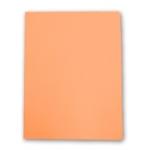 Elba Gio - Subcarpeta de cartulina, A4, 180 gr/m2, color naranja pastel