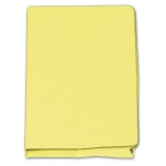 Subcarpeta cartulina Gio tamaño folio pocket amarillo con bolsa y solapa