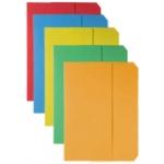 Subcarpeta cartulina vip Fast-PaperFlow tamaño A4 con bolsa y solapa pack de 10 unidades colores vivos
