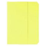 Subcarpeta cartulina vip Fast-PaperFlow tamaño A4 con solapa pack de 50 color amarillo pastel