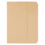 Subcarpeta cartulina vip Fast-PaperFlow tamaño A4 con solapa pack de 50 color crema pastel