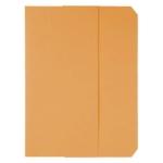 Subcarpeta cartulina vip Fast-PaperFlow tamaño A4 con solapa pack de 50 color naranja