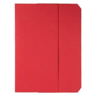 Subcarpeta cartulina vip Fast-PaperFlow tamaño A4 con solapa pack de 50 color rojo