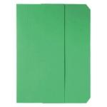 Subcarpeta cartulina vip Fast-PaperFlow tamaño A4 con solapa pack de 50 color verde