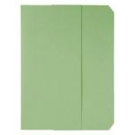 Subcarpeta cartulina vip Fast-PaperFlow tamaño A4 con solapa pack de 50 color verde pastel