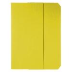 Subcarpeta cartulina vip Fast-PaperFlow tamaño folio con solapa pack de 50 color amarillo