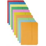 Subcarpeta cartulina vip Fast-PaperFlow tamaño folio con solapa pack de 50 unidades colores surtidos