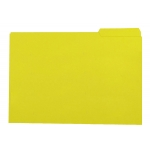 Elba Gio - Subcarpeta de cartulina con pestaña derecha, folio, 250 gr/m2, color amarillo