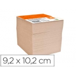Taco Liderpapel reciclado 92 x 102 mm color crema
