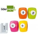 Taladrador Liderpapel con figuras decorativas modelos color surtidos