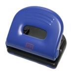 Taladrador Ofigrap metálico para 25 hojas color azul