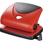 Taladrador Q-connect color rojo abertura 2 mm