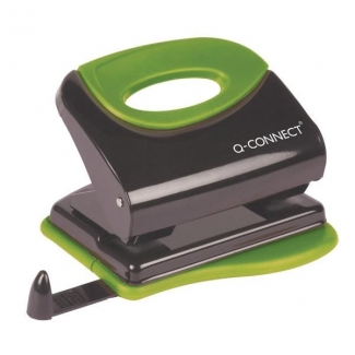 Q-Connect KF00996 - Taladrador metálico, perfora hasta 30 hojas