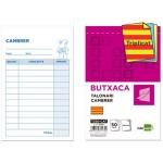 Talonario Liderpapel camarero original y 2 copias t350 texto en catalan