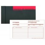Talonario de registro de asistencia Additio 19,5 x 10 cm 48 hojas original