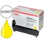 Tambor OKI amarillo -17000 páginas- (42126670) referencia C5250 C5450 C5510mfp C5540mfp