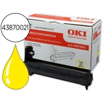 Tambor OKI amarillo XL -20000 páginas- (43870021) referencia C5850 C5950