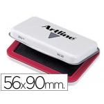Tampon Artline Nº 0 color rojo 56x90 mm