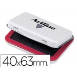 Tampon Artline Nº 00 color rojo 40x63 mm