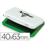 Tampon Artline Nº 00 color verde 40x63 mm
