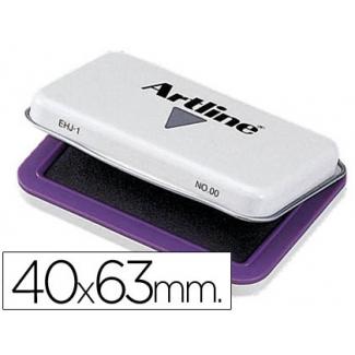 Tampon Artline Nº 00 color violeta 40x63 mm