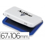 Tampon Artline Nº 1 color azul 67x106 mm
