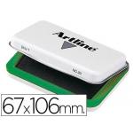 Tampon Artline Nº 1 color verde 67x106 mm