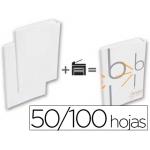 Tapa de encuadernación Bindo personalizable capacidad 50/100 hojas color blanco kit sistema sin maquina