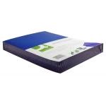 Tapa de encuadernación Q-Connect cartón tamaño A4 color azul simil-piel 250 gr paquete de 100 tapas