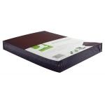 Tapa de encuadernación Q-Connect cartón tamaño A4 color negro simil-piel 250 gr paquete de 100 tapas