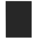 Tapa de encuadernación Yosan pvc tamaño A3 negra