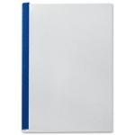 Tapa de encuadernación channel flexible color azul lomo aa capacidad 10/35 hojas