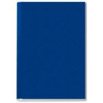 Tapa de encuadernación channel rigida color azul lomo 24,5 mm capacidad 245 hojas