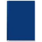 Leitz 73900035 - Tapa de encuadernación por presión, channel rígida, color azul, lomo A, capacidad para 10/35 hojas