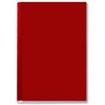 Tapa de encuadernación channel rigida color burdeos lomo aa capacidad 10/35 hojas