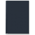 Tapa de encuadernación channel rigida negra lomo aa capacidad 10/35 hojas