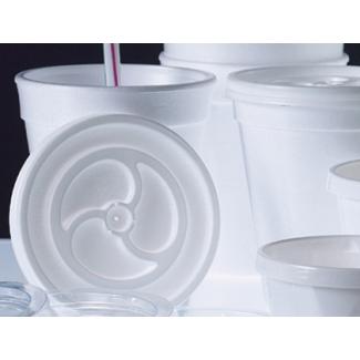 Tapa vaso foam 73 mm diámetro de paquete 100