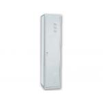 Taquilla metálica ar storage 50x180x30 cm 1 puerta con llave color gris continuación