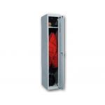 Taquilla metálica ar storage 50x180x30 cm 1 puerta con llave color gris inicial