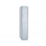Taquilla metálica ar storage 50x180x40 cm 2 puertas con llave color gris continuación