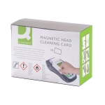 Tarjeta limpiadora Q-Connect de banda magnética caja de 20 unidades