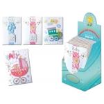 Tarjeta postal Arguval baby pastel modelos color surtidos