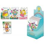 Tarjeta postal Arguval color infantil cumpleaños modelos surtidos