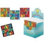 Tarjeta postal Arguval holografica feliz cumpleaños modelos color surtidos