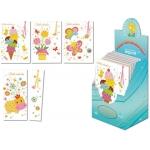 Tarjeta postal color infantil + punto lectura Arguval modelos surtidos