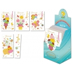 Tarjeta postal color infantil + punto lectura Arguval modelos surtidos euskera