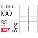 Tarjetas de visita Apli 200 g microperforadas