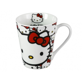 Taza conica Anadel cerámica hello kitty